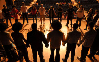Ceilidh, circle, chain dances, longways